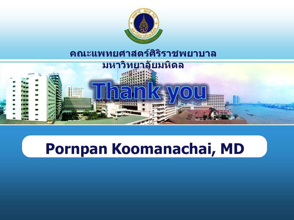 Pornpan Koomanachai, MD
