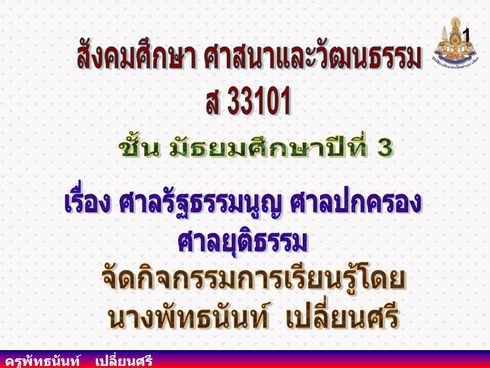 สังคมศึกษา ศาสนาและวัฒนธรรม ส 33101