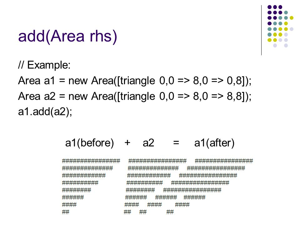 a1(before) + a2 = a1(after)
