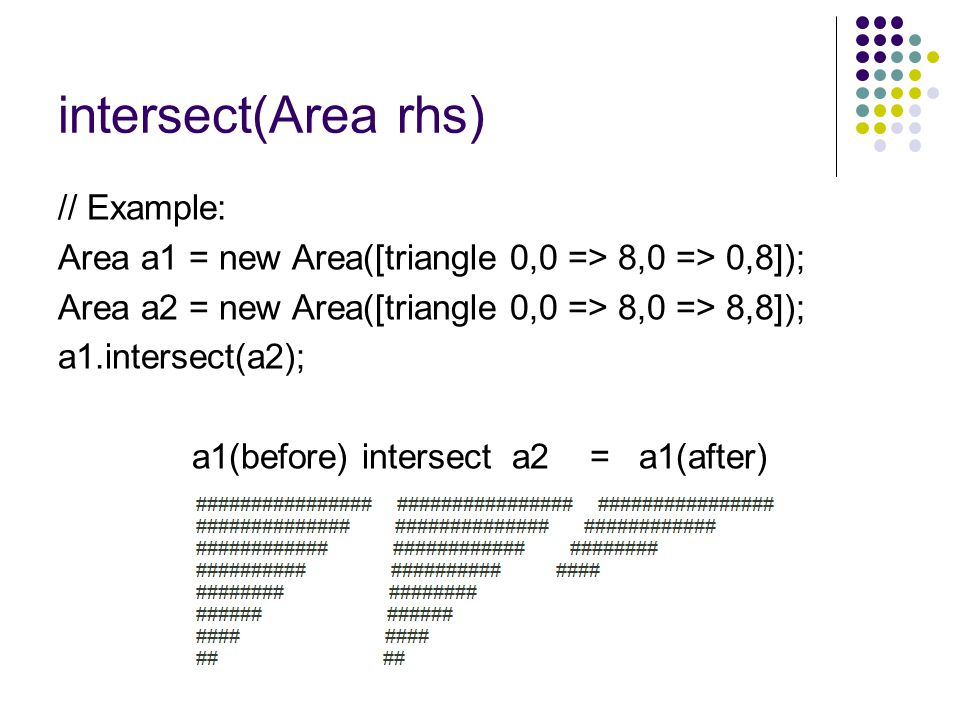 a1(before) intersect a2 = a1(after)