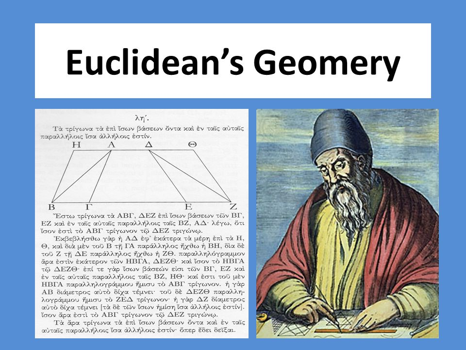 Euclidean's Geomery