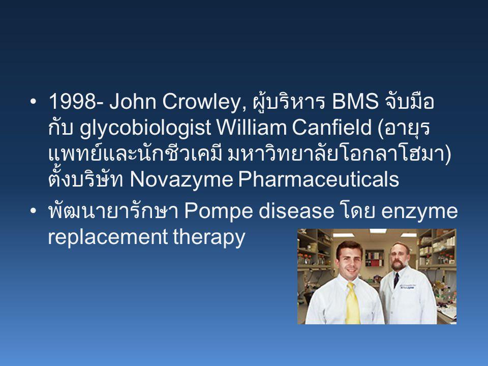 พัฒนายารักษา Pompe disease โดย enzyme replacement therapy