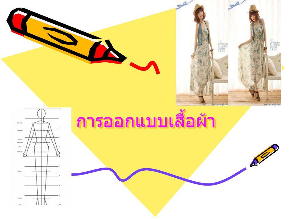 การออกแบบเสื้อผ้า