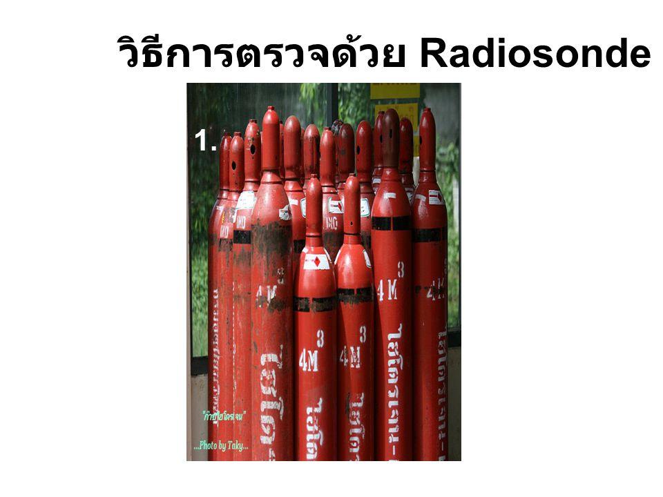 วิธีการตรวจด้วย Radiosonde