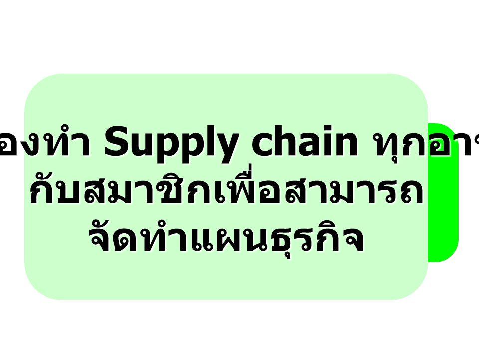 6. ต้องทำ Supply chain ทุกอาชีพ กับสมาชิกเพื่อสามารถ