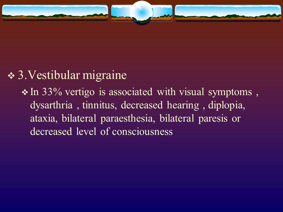 3.Vestibular migraine