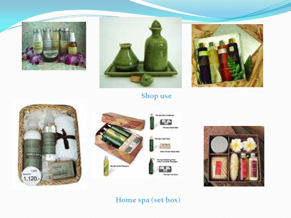 Shop use Home spa (set box)