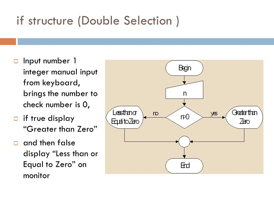 if structure (Double Selection )