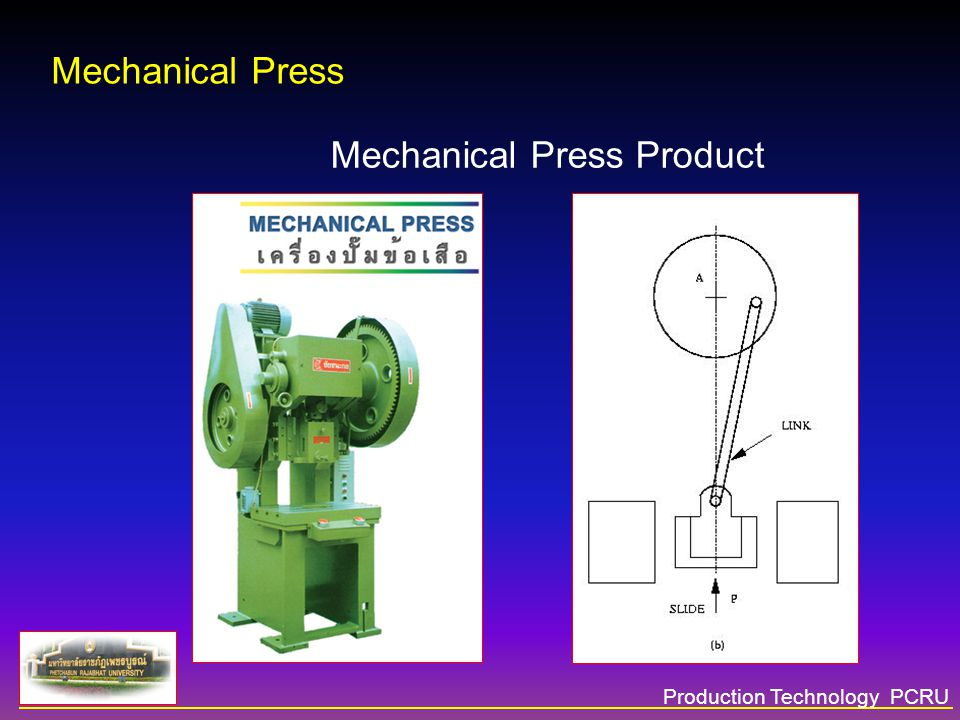 Mechanical Press Product