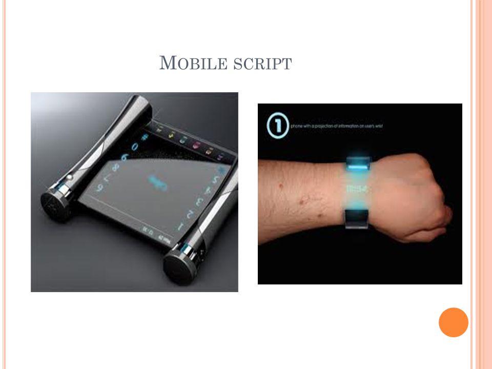Mobile script
