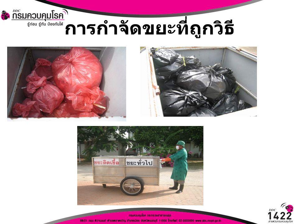การกำจัดขยะที่ถูกวิธี
