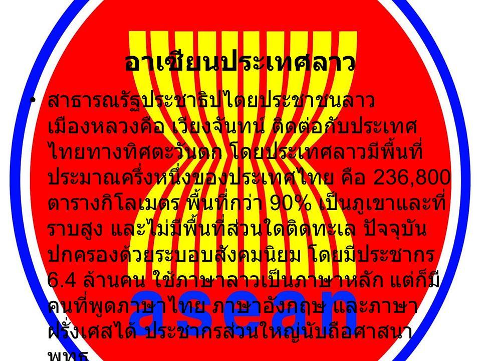 อาเซียนประเทศลาว
