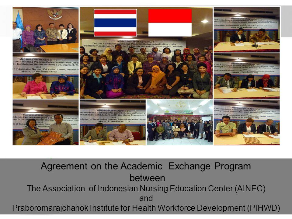 Agreement on the Academic Exchange Program between