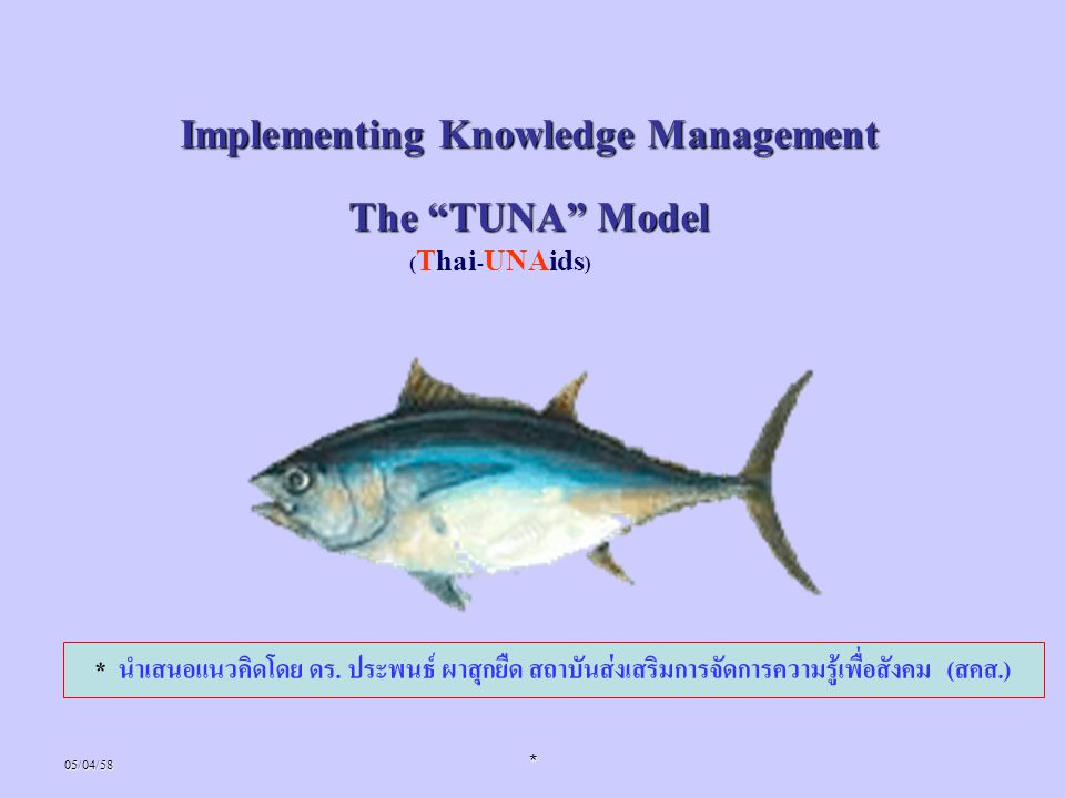 Implementing Knowledge Management