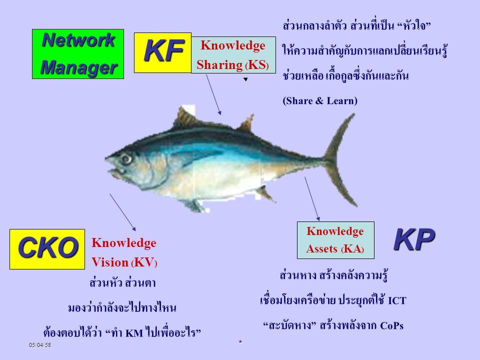 KF KP CKO Network Manager ส่วนกลางลำตัว ส่วนที่เป็น หัวใจ