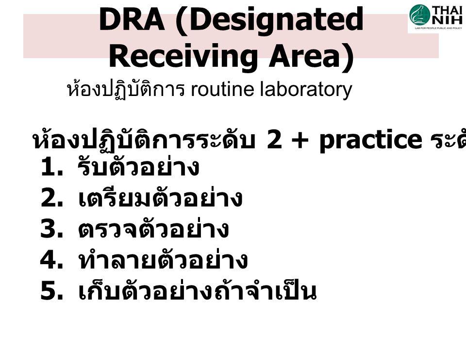 DRA (Designated Receiving Area)