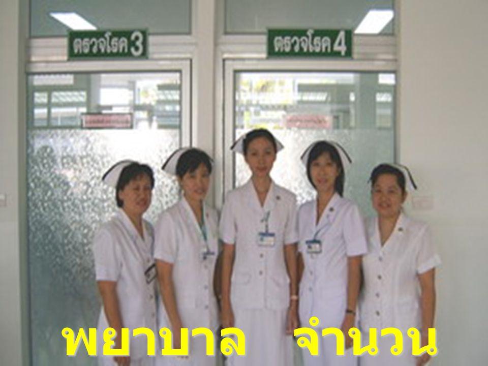 พยาบาล จำนวน 20 คน
