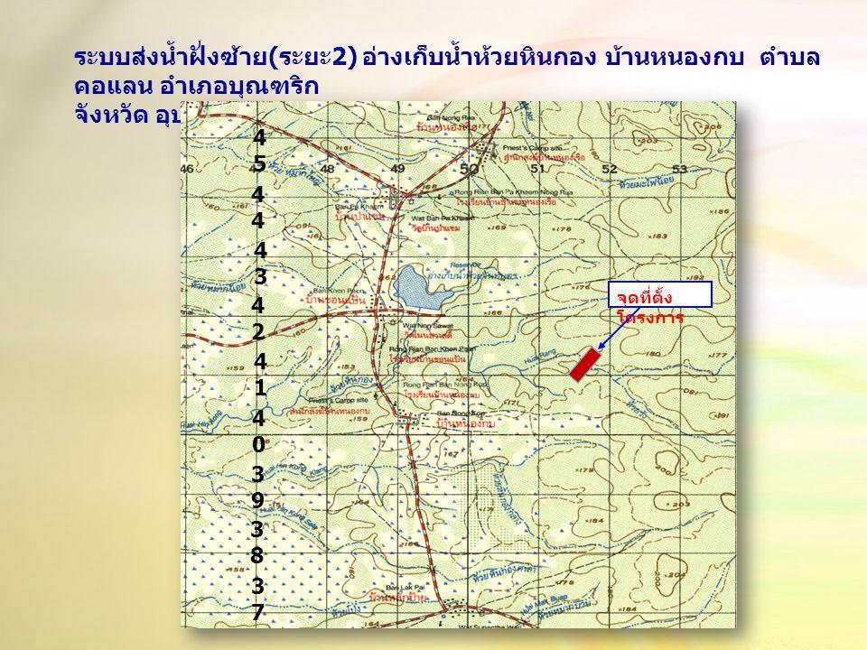 จังหวัด อุบลราชธานี 48 PWB 519 - 411 ระวาง 6038 I