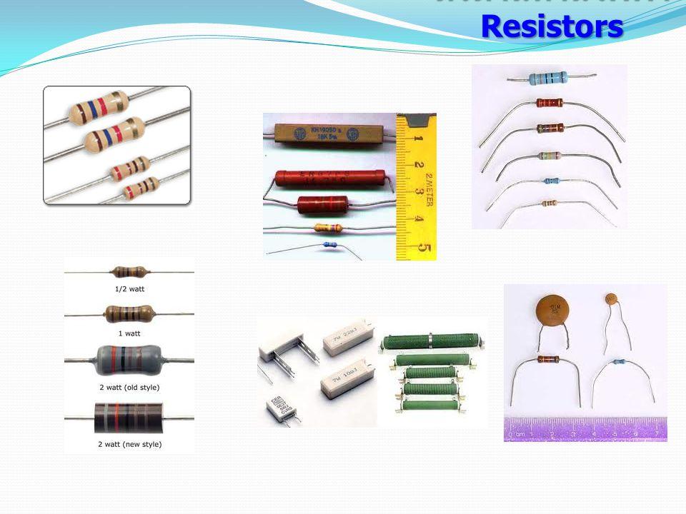 ตัวต้านทานไฟฟ้า Resistors