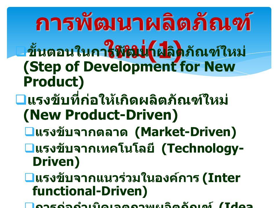 การพัฒนาผลิตภัณฑ์ใหม่(1)