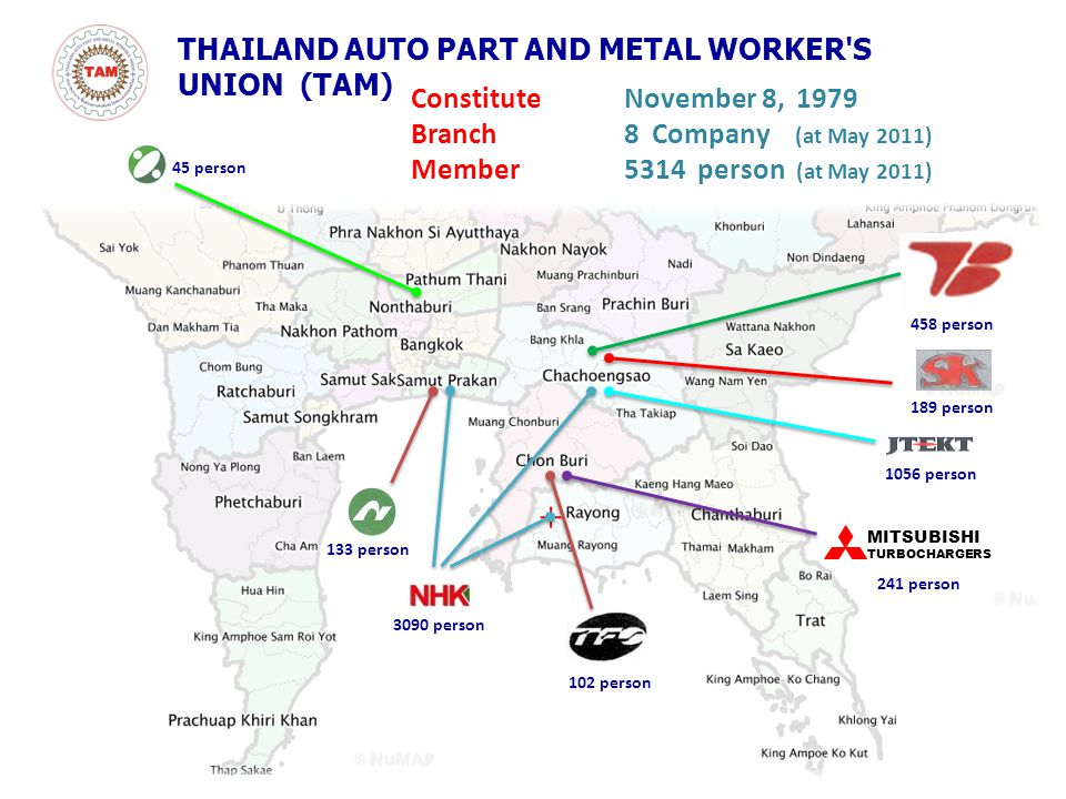 THAILAND AUTO PART AND METAL WORKER S UNION (TAM)
