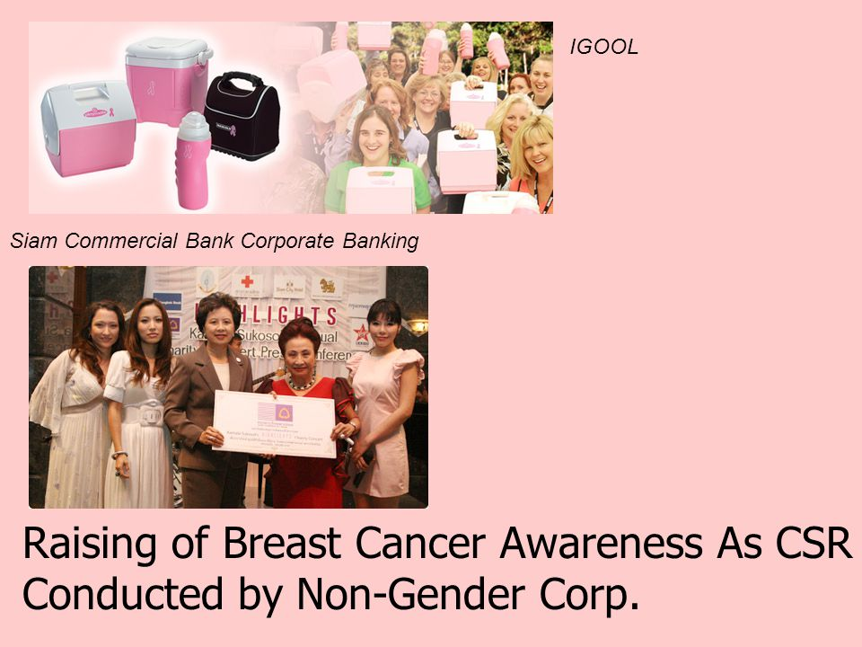 Raising of Breast Cancer Awareness As CSR