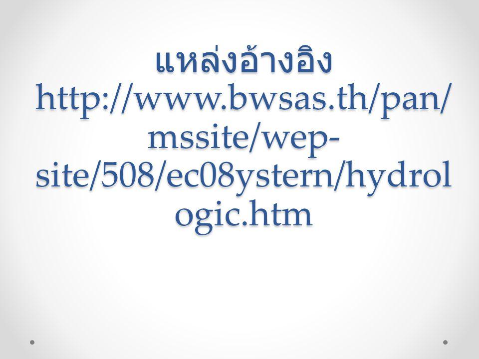 แหล่งอ้างอิง http://www. bwsas
