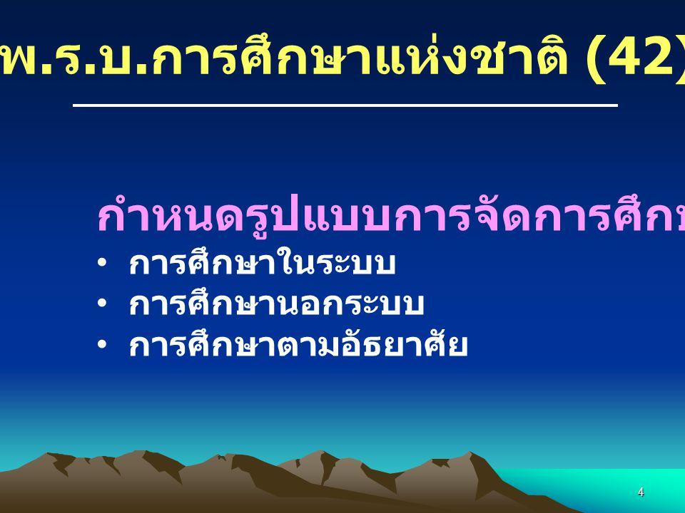พ.ร.บ.การศึกษาแห่งชาติ (42)