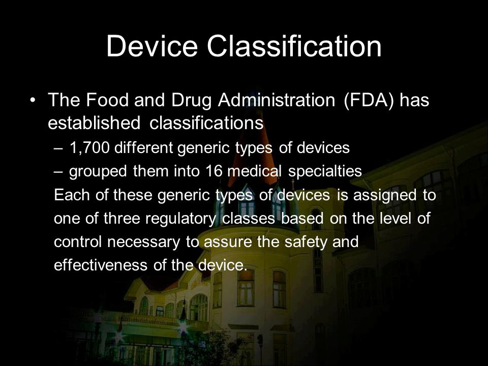 Device Classification