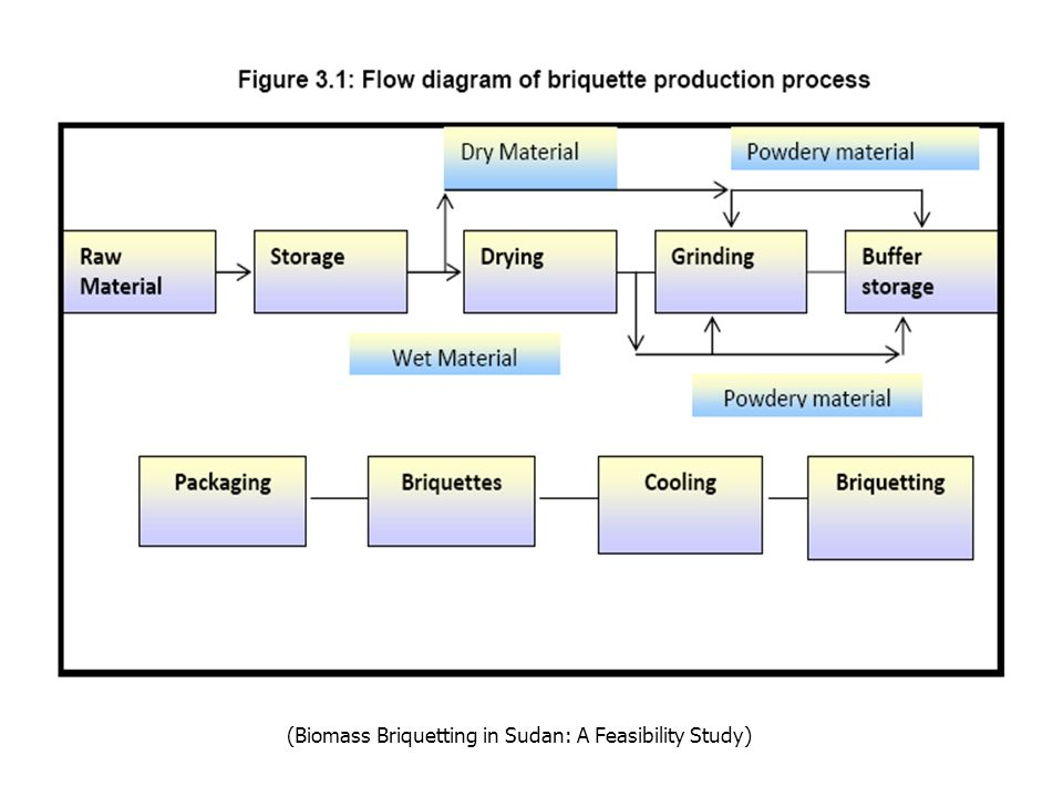 (Biomass Briquetting in Sudan: A Feasibility Study)