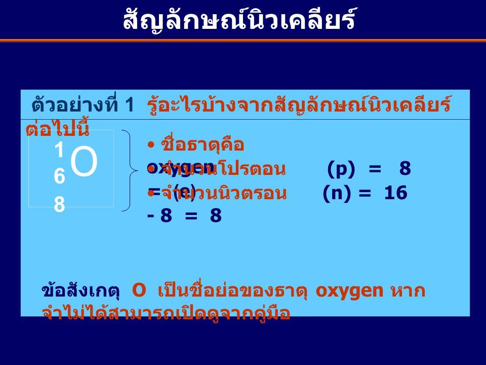 O สัญลักษณ์นิวเคลียร์ 16 8