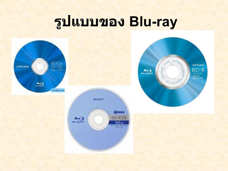 รูปแบบของ Blu-ray