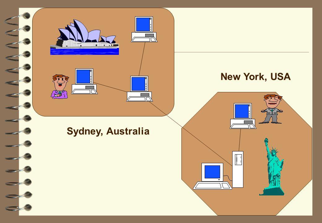 Sydney, Australia New York, USA