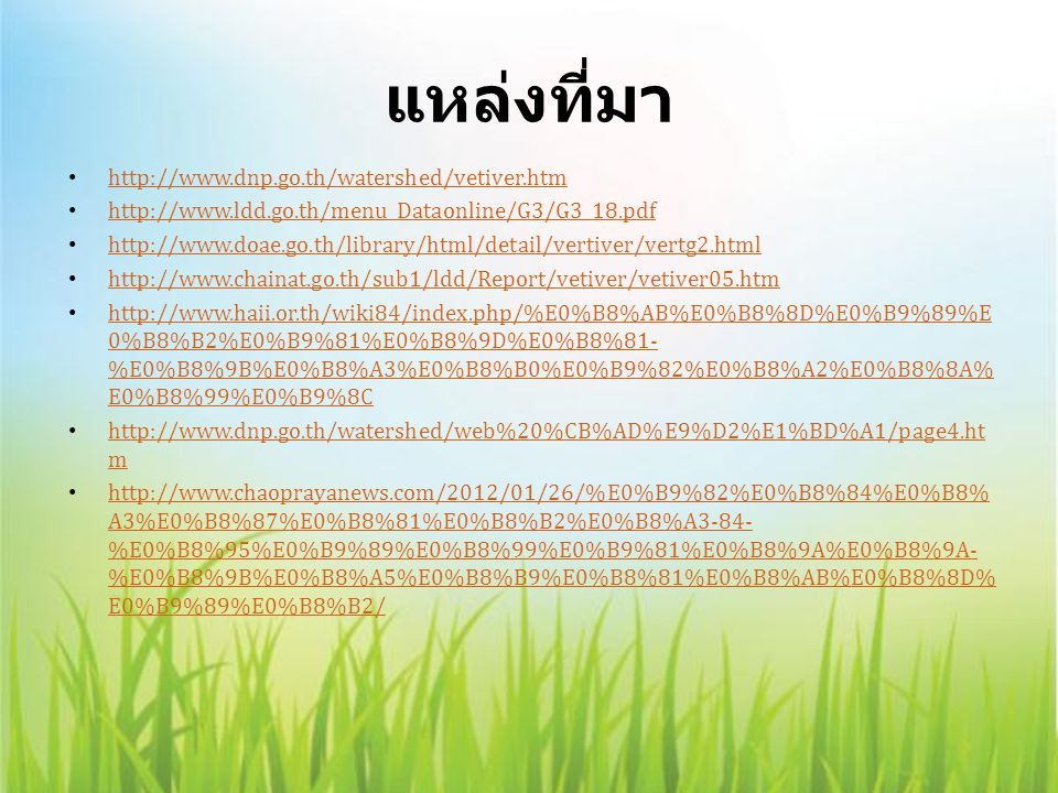 แหล่งที่มา http://www.dnp.go.th/watershed/vetiver.htm