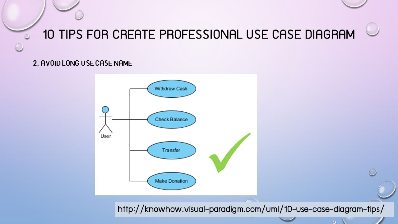 10 Tips for create professional use case diagram