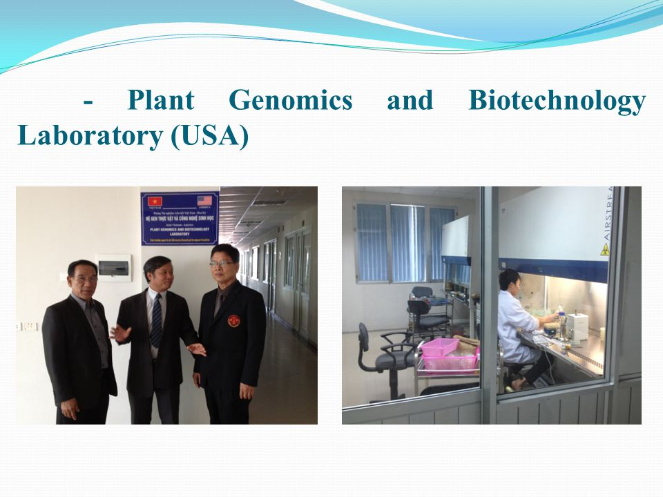 - Plant Genomics and Biotechnology Laboratory (USA)