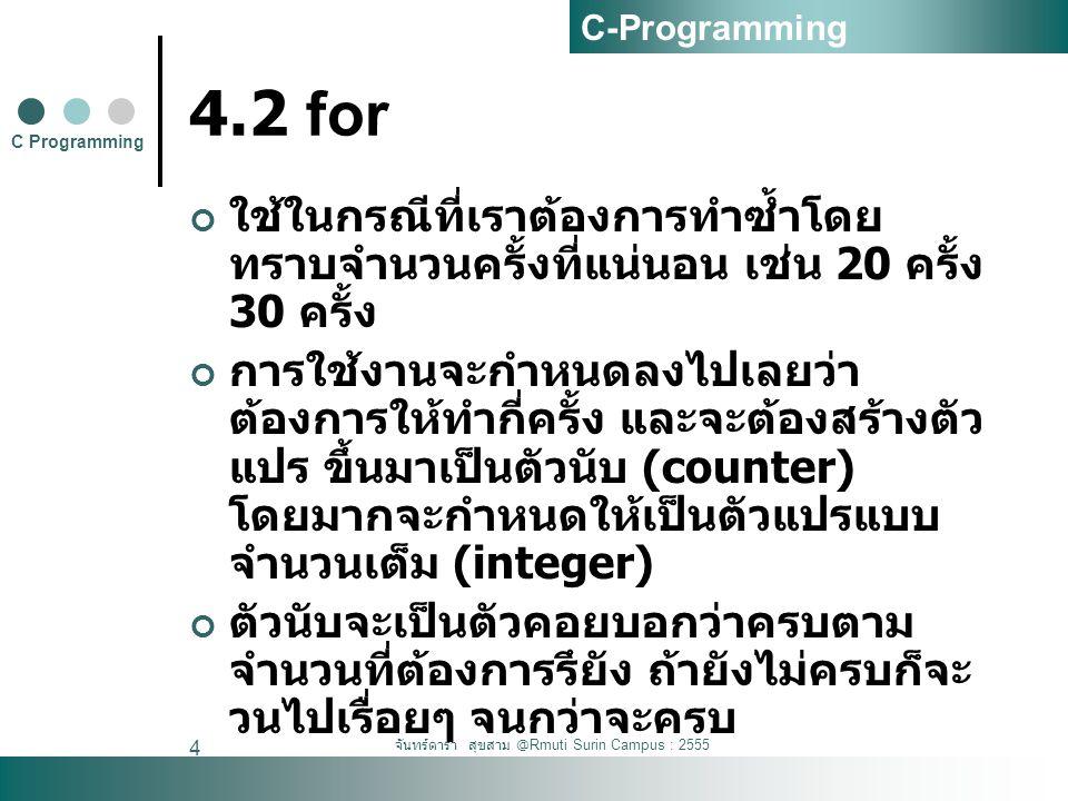 จันทร์ดารา สุขสาม @Rmuti Surin Campus : 2555