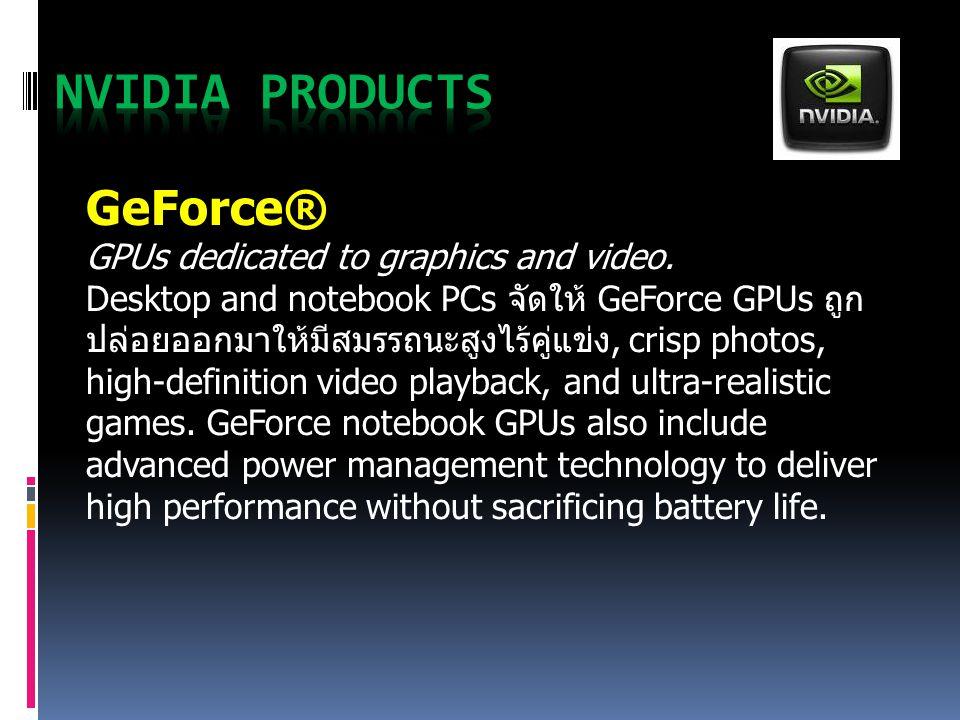 NVIDIA Products