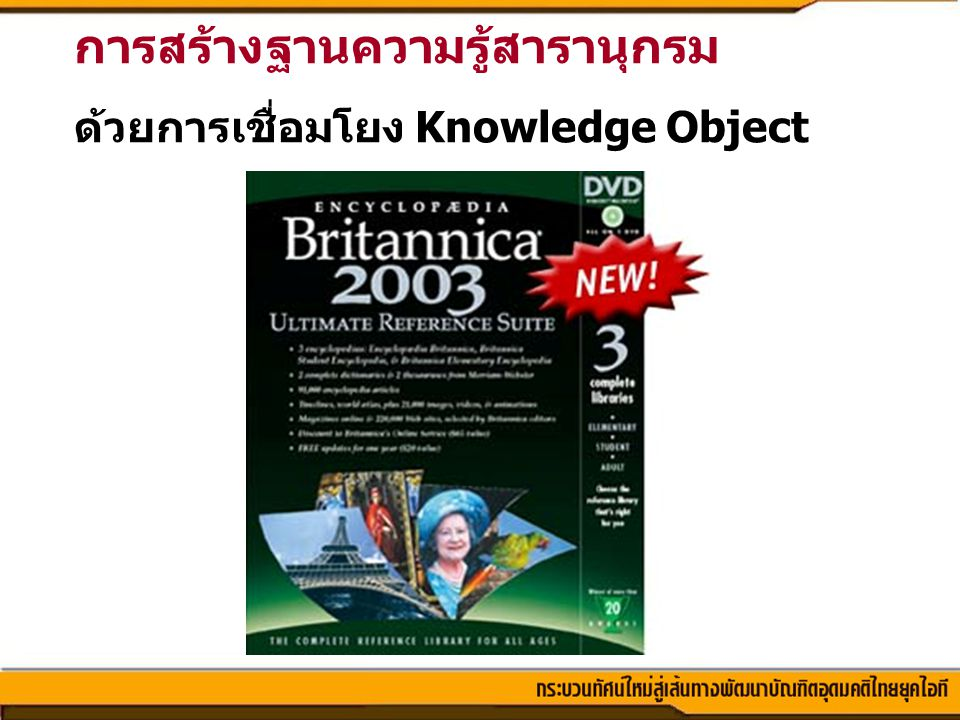 การสร้างฐานความรู้สารานุกรม
