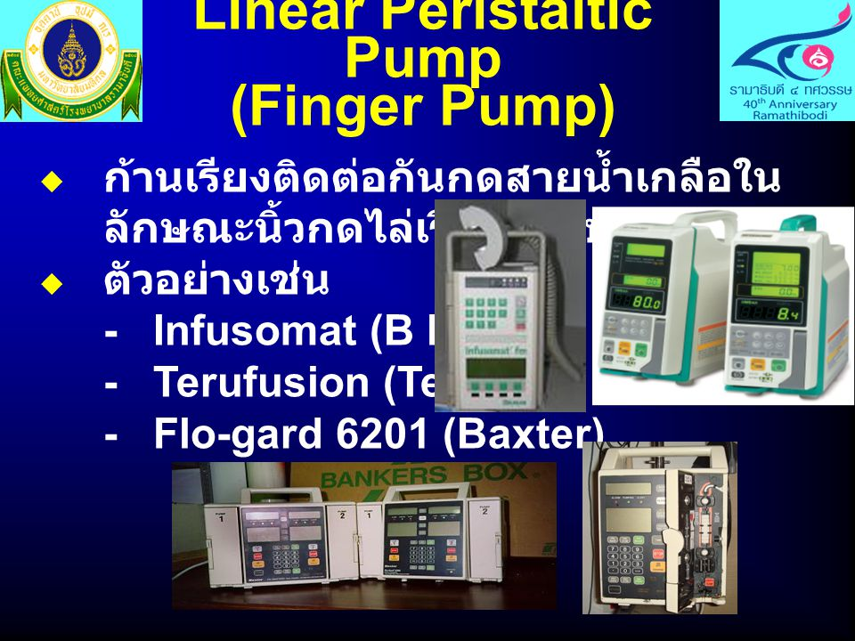 Linear Peristaltic Pump (Finger Pump)