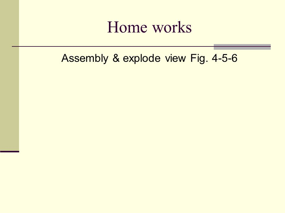 Assembly & explode view Fig. 4-5-6