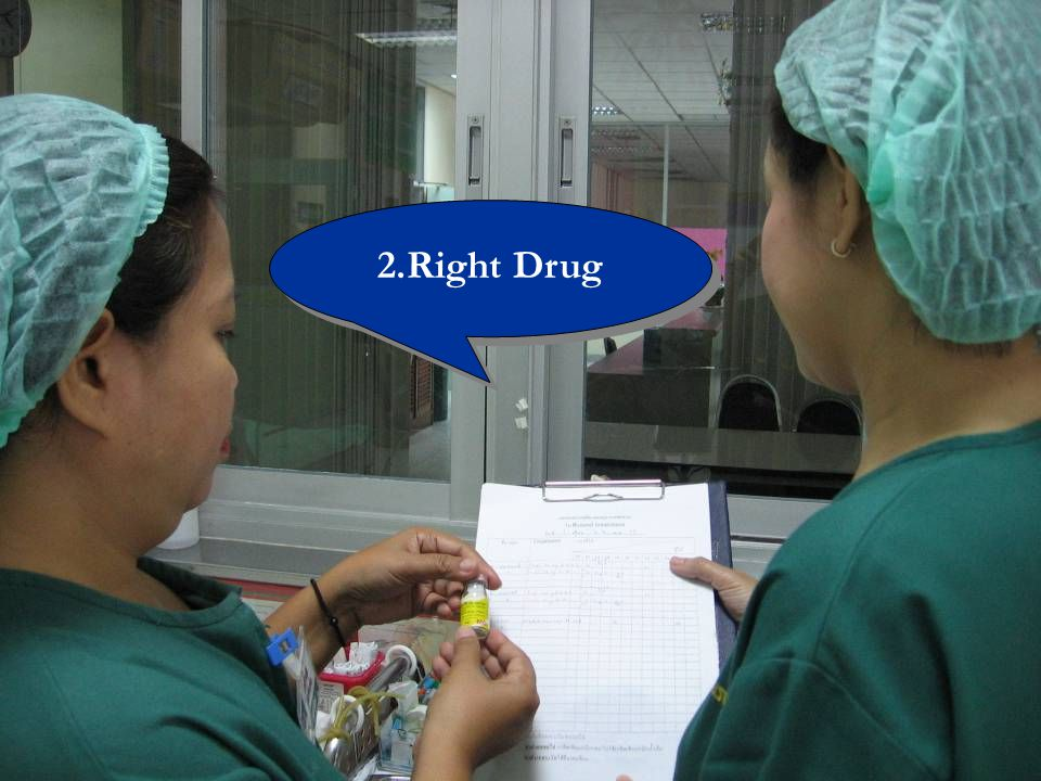 2.Right Drug