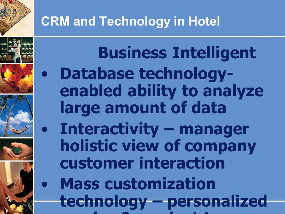 Database technology-enabled ability to analyze large amount of data