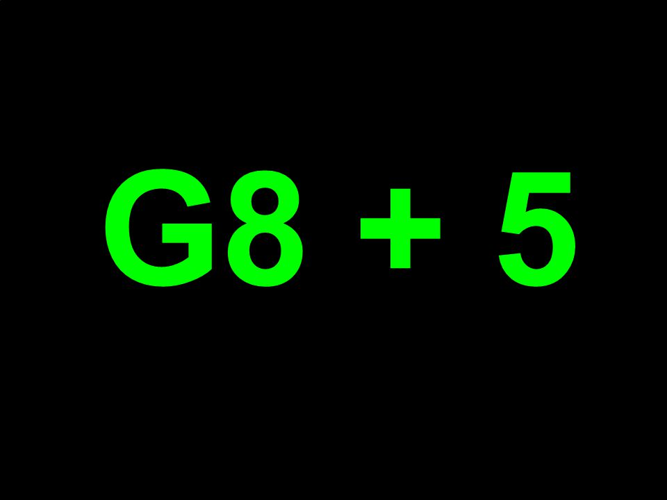 G8 + 5
