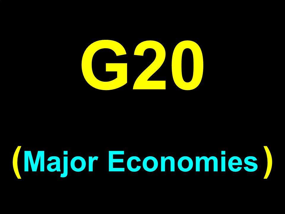 G20 (Major Economies )