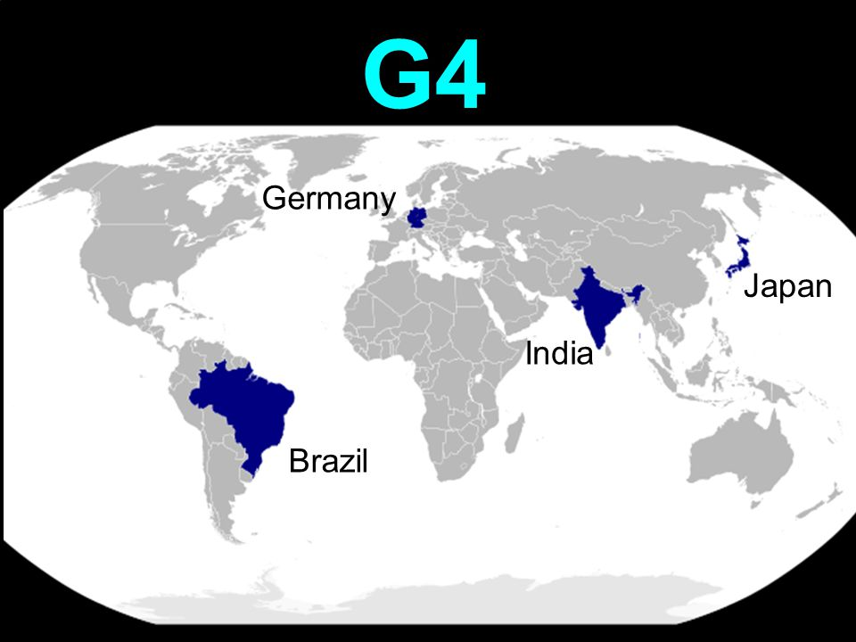 G4 Germany Japan India Brazil
