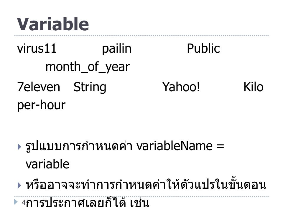 Variable virus11 pailin Public month_of_year