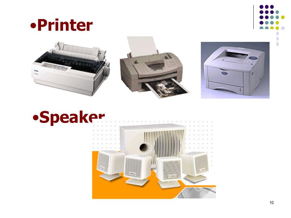 Printer Speaker