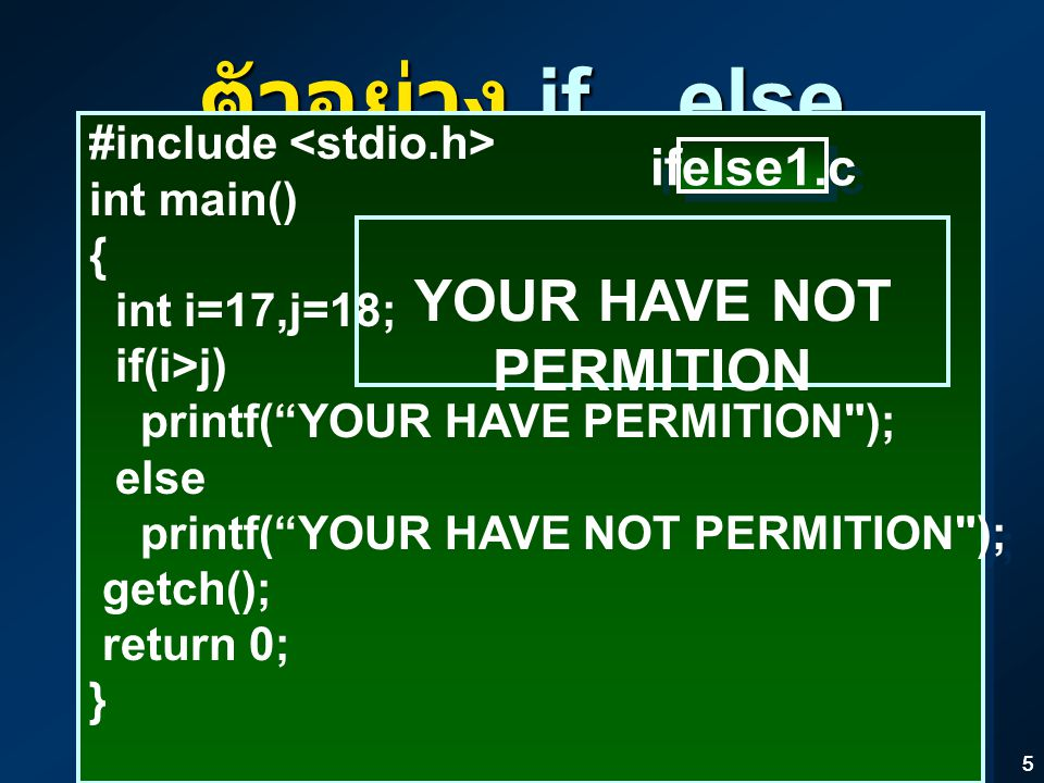 YOUR HAVE NOT PERMITION