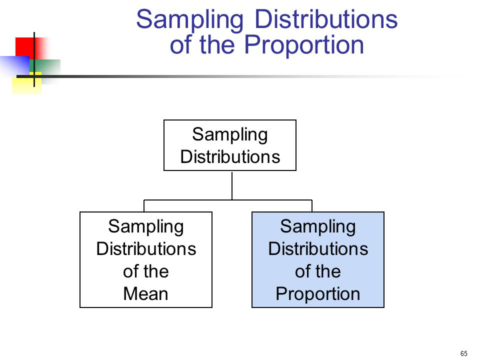 Sampling Distributions of the Proportion